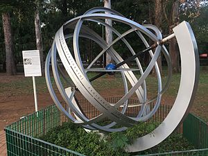 Esfera Armilar Equatorial