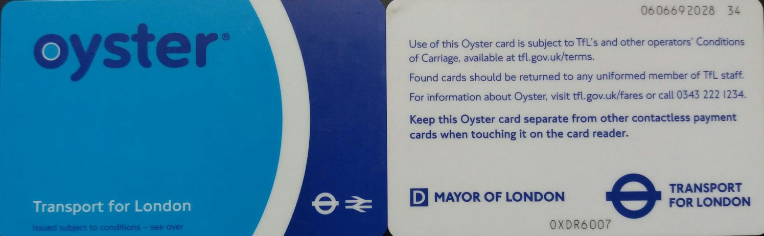 Oyster Card 2