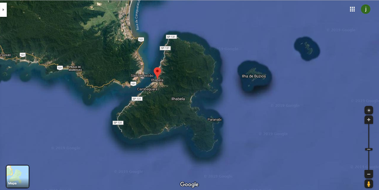 Mapa Ilha 2